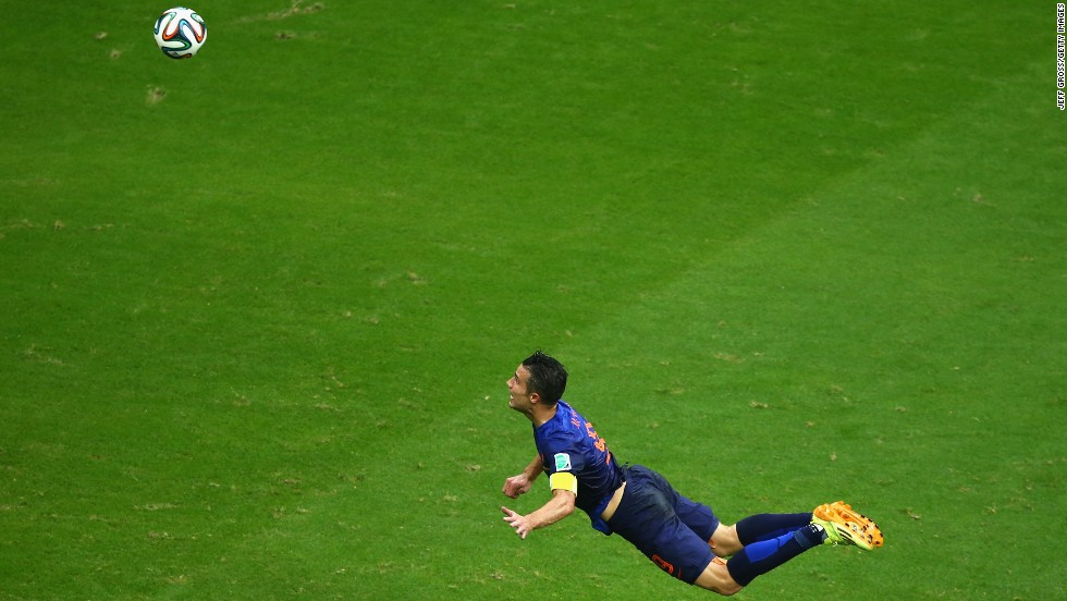 Van Persie's goal leveled Friday's match at 1-1, after which the Netherlands went on to beat the World Cup holders 5-1.