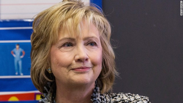 What is Hillary Clinton up to?