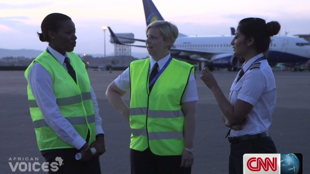 Do female pilots face more scrutiny?