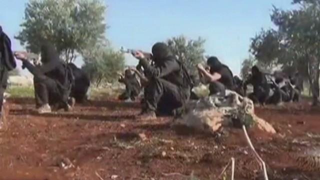 ISIS blurring the Syria / Iraq border