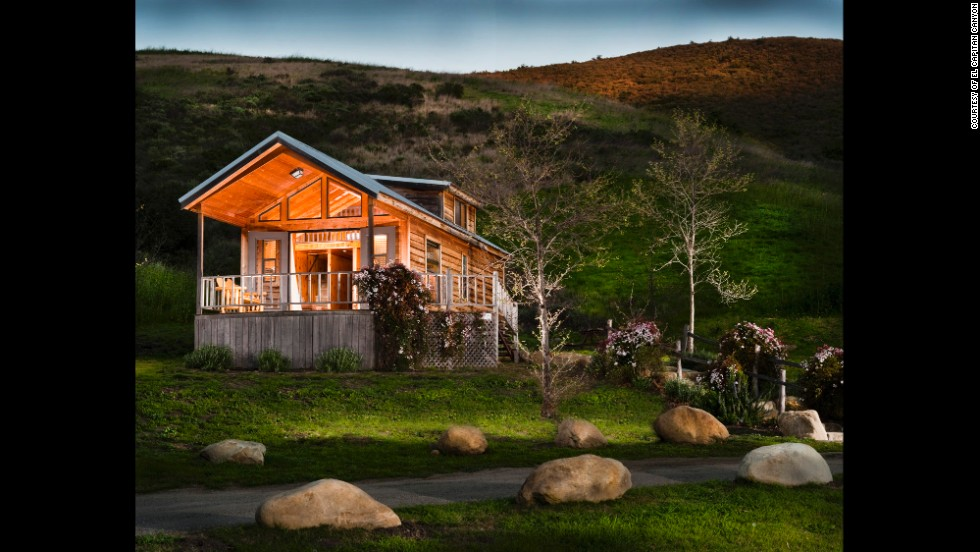Just north of Santa Barbara, El Capitan Canyon promotes a life lived outdoors, with the extra comfort of safari tents and cedar cabins.