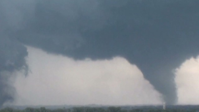 Tornadoes rake Nebraska countryside