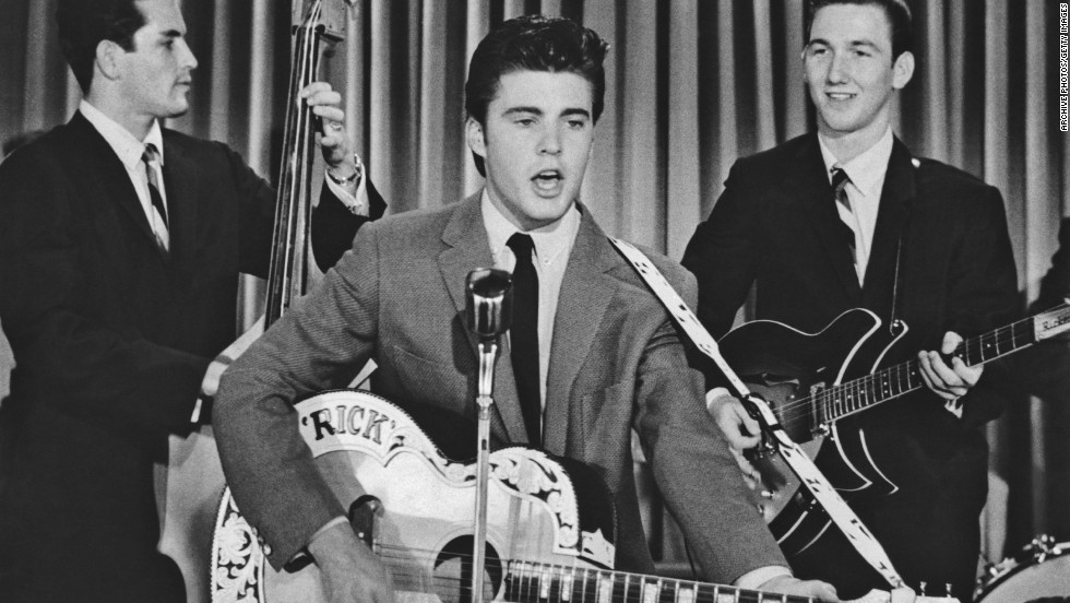 "Ricky Nelson hooked up with a ""pretty Senorita"" in Mexico, a ""cute little Eskimo"" in Alaska, a ""sweet Fraulein"" in Berlin and a ""China doll down in old Hong Kong."" Or so he sang in ""Travelin' Man."""