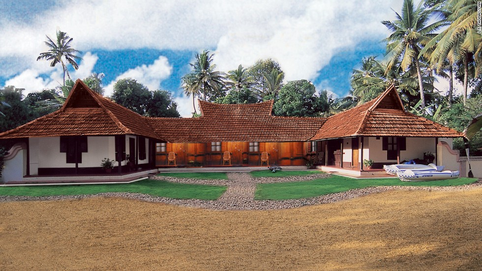 Emerald Isle Heritage Villa, the ancestral home of brothers Vinod and Vijo Job, offers accommodation in a traditional setting among paddy fields and coconut groves.