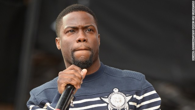 Comedian Kevin Hart speaks onstage during the Coke Zero Countdown at NCAA March Madness Music Festival - Day 2 at Reunion Park on April 5, 2014 in Dallas, Texas.