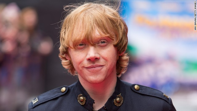 """Rupert Grint attends the World Premiere of """"Postman Pat"""" in May 2014 in London, England."""
