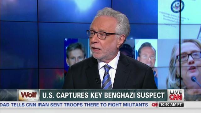 U.S. Captures Benghazi Suspect