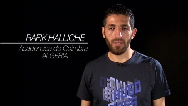 Halliche honored to represent Algeria