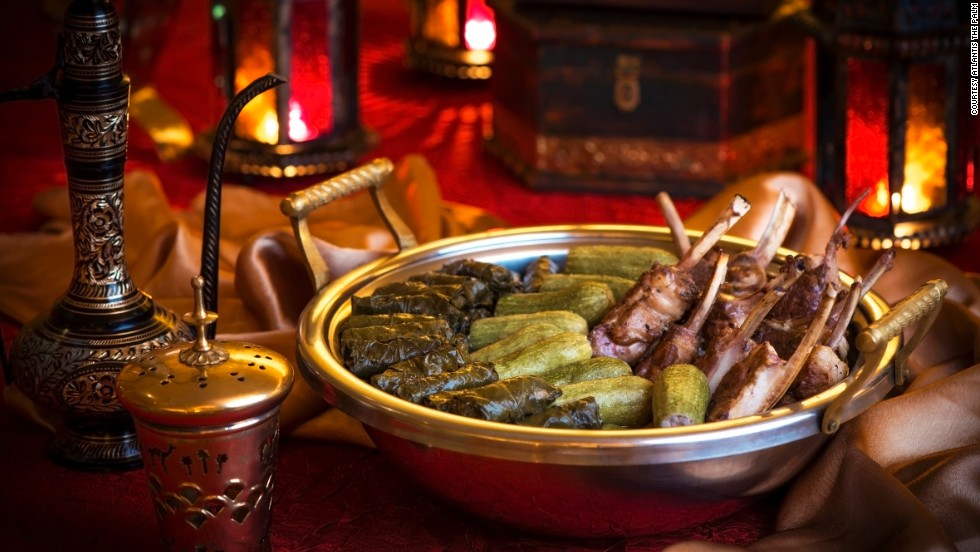 Many hotels serve hundreds of diners every evening, with specialties from Lebanese, Egyptian and Turkish cuisines.