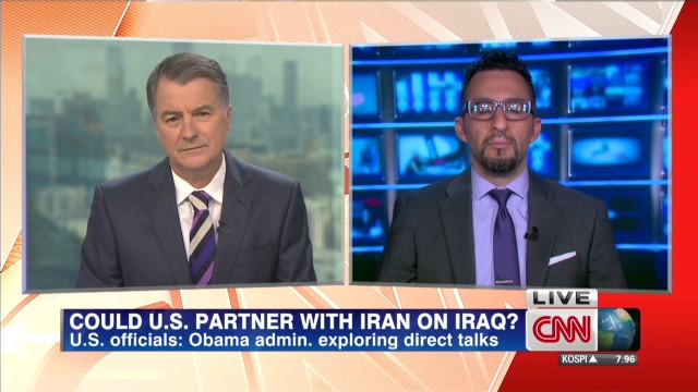 Can U.S. work with Iran on Iraq crisis?