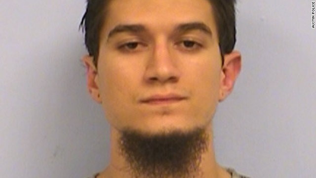 "Michael Todd Wolfe, 23, of Austin, has been charged ""with attempting to provide material support to terrorists."""