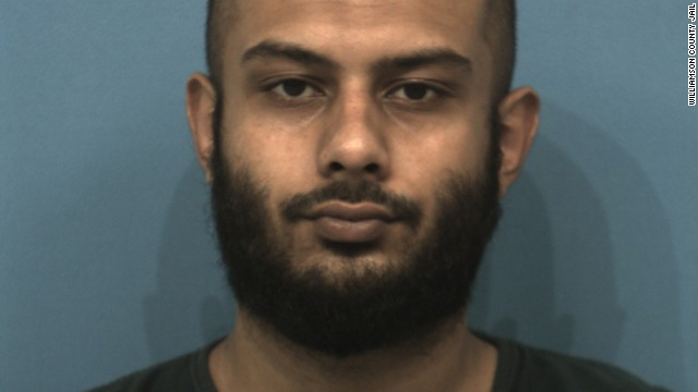 "Rahatul Ashikim Khan, 23, of Round Rock, was arrested and charged with ""conspiring to provide material support to terrorists."""