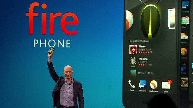 Amazon CEO debuts the 'Fire' smartphone