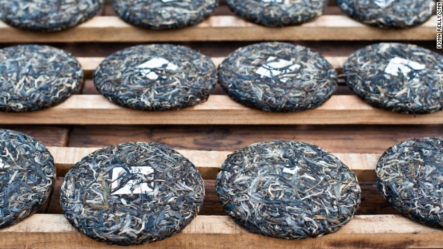 Pu'er is considered the pinnacle of Chinese teas.