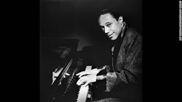 "Horace Silver, shown in an undated photo, was a pioneer of ""hard bop"" -- an offshoot of bebop."