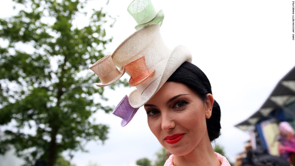 Ascot's plush Royal Enclosure viewing area offers five-day tickets for a whopping $560. Fashion protocol is similarly steep -- women must wear hats, or failing that, a headpiece with a 10-centimeter base. Fascinators -- small ornaments attached to a headband -- are a no-no.