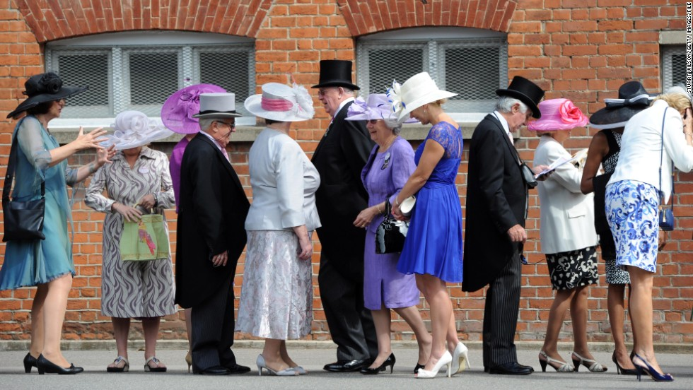 Queen Elizabeth II will be present for the entire five-day meeting, but it was her predecessor Queen Anne who founded Ascot racecourse in 1711. The venue's links with high society have remained intact ever since.