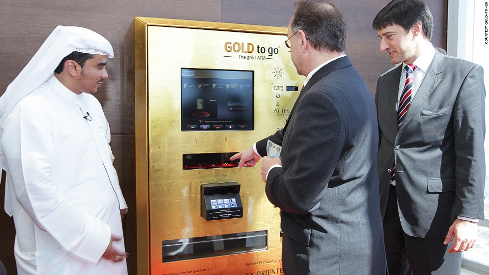 It might not be a common midnight emergency purchase, but for those who do find themselves in need of gold to go, Dubai provides.