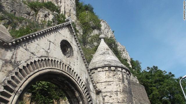 Gellert Hill's church cave.