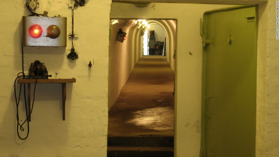 The former hospital is hidden among nearly six miles of natural caves and tunnels located directly below Buda Castle Hill.