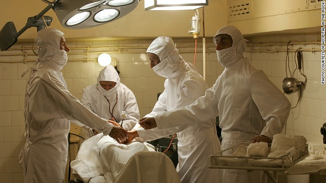 Subterranean surgery: Hospital in the Rock.