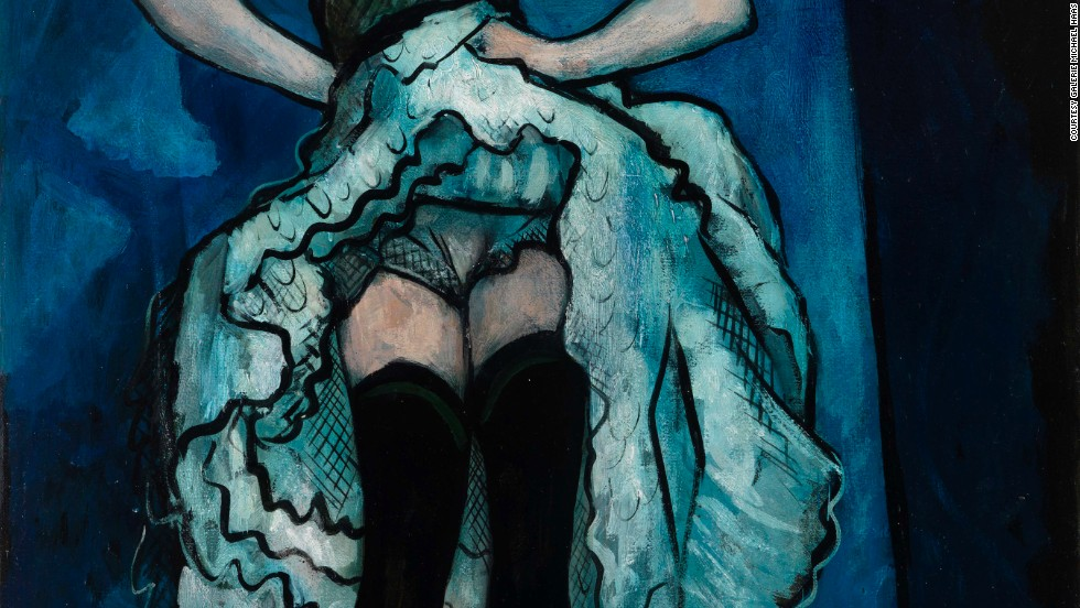 """<em>""""French Cancan"""" (ca. 1941-43) by French artist Francis Picabia</em><br /><br />He adds: """"It's a city abuzz with culture. You can go for a swim in the Rhine at eight am and end up having a conversation with a great gallerist from New York, and an artist from Asia. There's so much going on that careers can be made just by chance."""" Shown here is work by French avant-garde painter and poet <a href=""""http://www.tate.org.uk/art/artists/francis-picabia-1766"""" target=""""_blank"""">Francis Picabia</a>."""