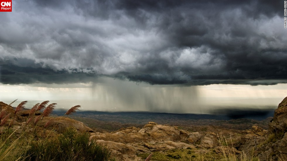 "Summer in the Southern Hemisphere lasts from December to March. While on vacation in February 2008, <a href=""http://ireport.cnn.com/docs/DOC-1145263"">Mario Goren</a> shot this storm over the Traslasierra Valley in Cordoba, Argentina."