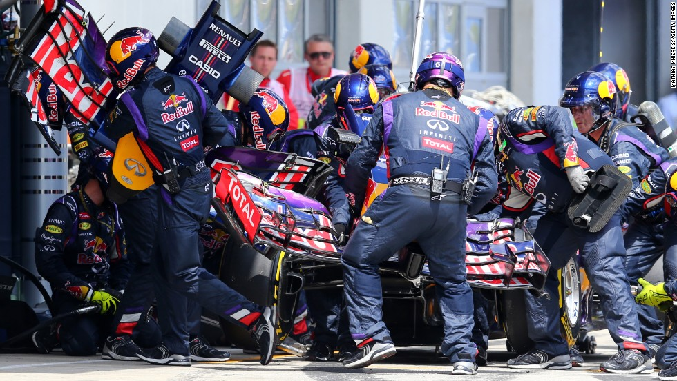 Red Bull's world champion Sebastian Vettel failed to finish a race for the third time this season after being forced to retire after 37 laps.
