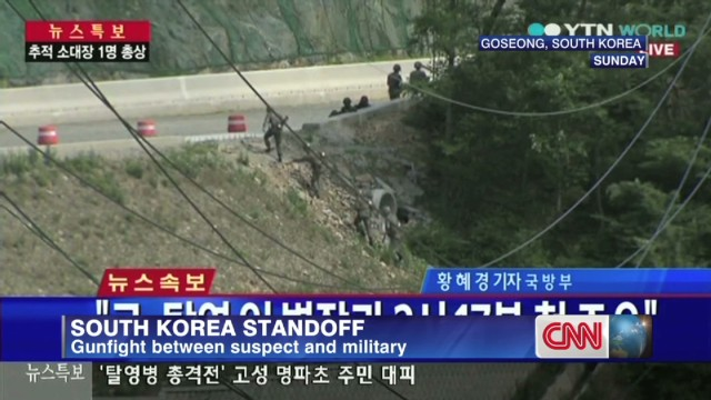 South Korea standoff continues