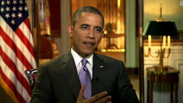 President Barack Obama speaks to CNN's Kate Bolduan on Friday, June 20.