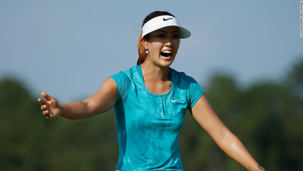 The 24-year-old was appearing at her 11th U.S. Open event and the victory represents her first ever major title.<br />