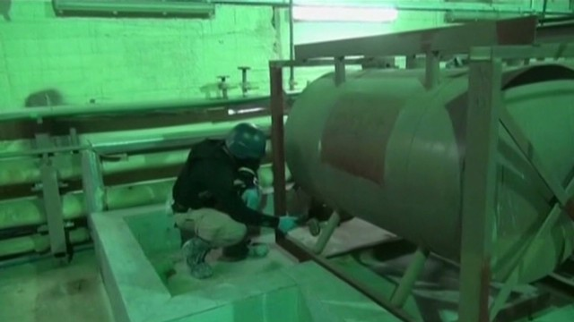 Syria's declared chemical weapons gone