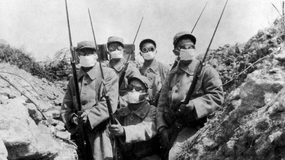 chemical warfare in wwi essay