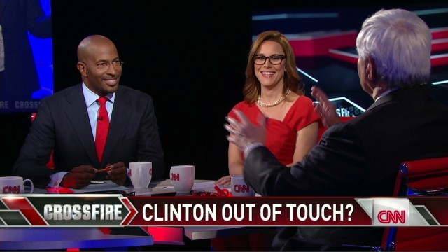 Crossfire Van Jones says Hillary's blowing it_00003326.jpg