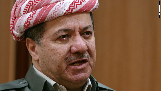 Iraqi Kurdish leader on region's future