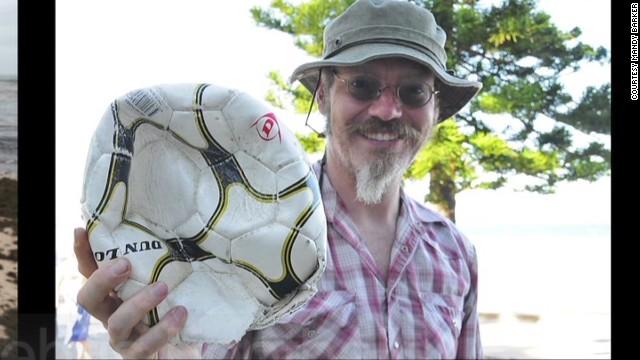Penalty: 769 footballs found at sea