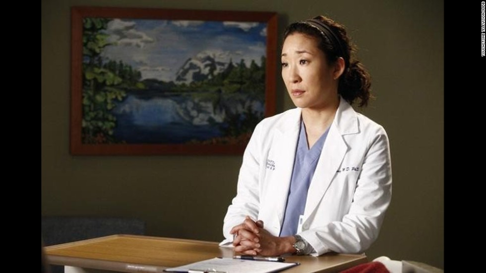 "After an earlier miscarriage, Cristina Yang (played by Sandra Oh) in the hit series ""Grey's Anatomy"" decides to have an abortion in order to keep up her workaholic tendencies. The show's creator and show runner Shonda Rhimes later told <a href=""http://www.vulture.com/2011/09/shonda_rhimes_talks_about_grey.html"" target=""_blank"">New York Magazine</a> that she had wanted to include the plot line in the first season, but had ""some very strong conversations with Broadcast Standard and Practices back then about the topic."""