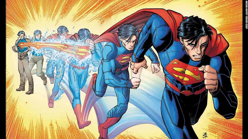 "Acclaimed artist John Romita Jr. joins fan favorite writer Geoff Johns bringing a fresh take to Superman in ""Superman"" #32. (Warning: This gallery contains spoilers!)"