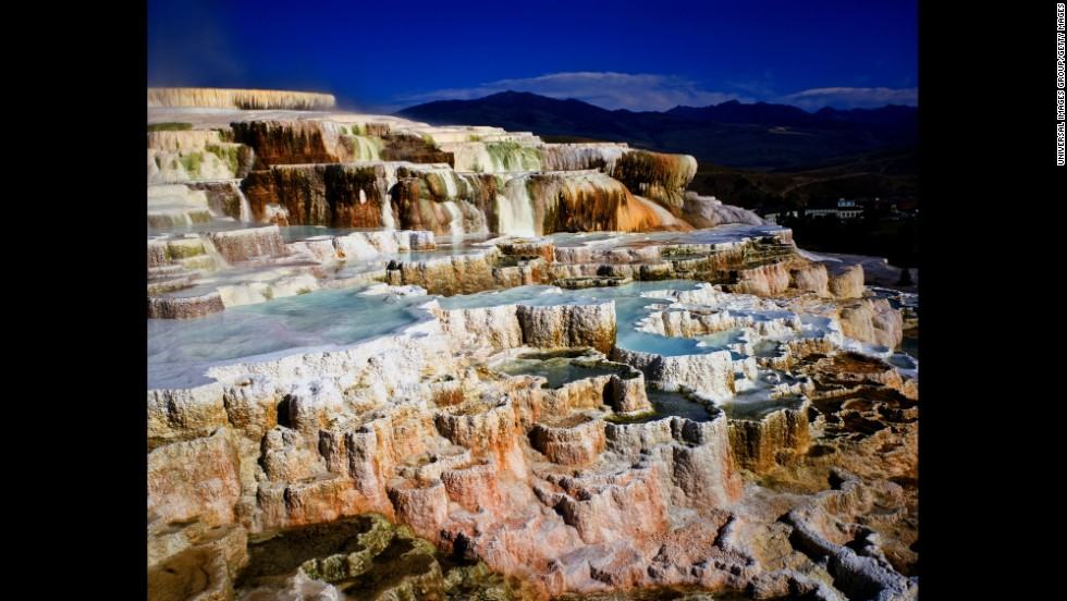 Since it was established in 1872, Yellowstone National Park has become an icon of wildlife and natural beauty. Top attractions include Old Faithful Geyser, Mammoth Hot Springs and its own Grand Canyon of the Yellowstone. With over 2.2 million acres of land, the park sits mostly in Wyoming (with small sections in Idaho and Montana).