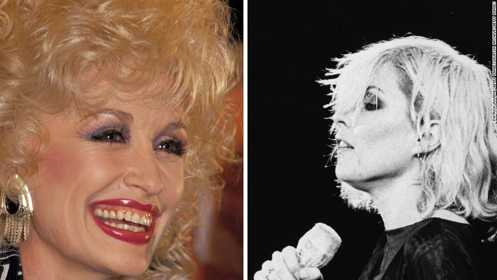 "<strong>Mid 1970s: A star is born</strong><br /><br />Parton<strong> </strong>is a real-life rhinestone in the rough, with nine number one singles in the U.S. country charts throughout the 1970s -- including hits ""Jolene"" in 1973, and ""I Will Always Love You"" in 1974.<br /><br />Meanwhile, Harry and guitarist Chris Stein were busy founding the band which would catapult them to stardom -- Blondie. They released their first self-titled album in 1976.<br /><br />""Both women are responsible for some of the most popular songs ever,"" said Stubbs. ""Dolly's 'I Will Always Love You' was a massive hit for Whitney Houston. And Blondie's 'One Way or Another' was recently covered by One Direction."""