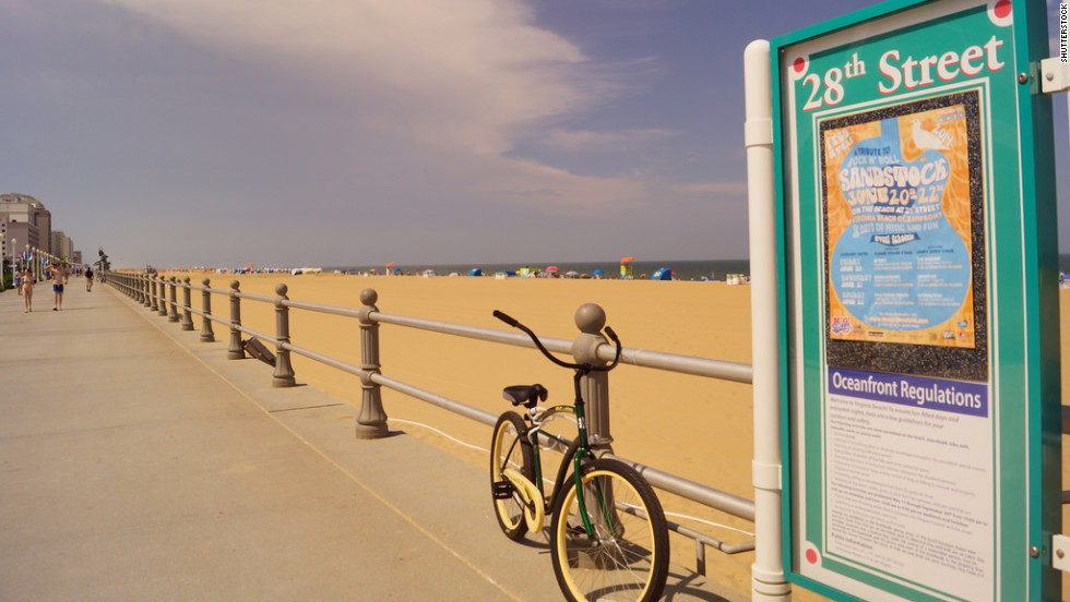 Sections of Virginia Beach, including the stretch near 28th Street, appear on the list of beaches with the best water quality.