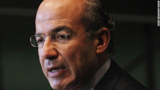 """Felipe Calderón ve un """"riesgo inminente de pérdidas humanas"""" en Venezuela"""