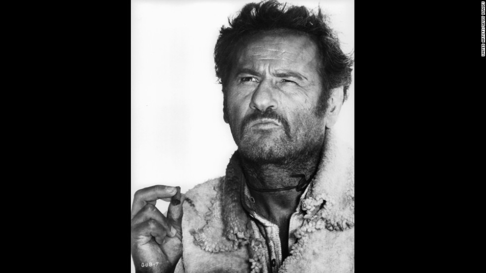 "Character actor <a href=""http://www.cnn.com/2014/06/25/showbiz/obit-eli-wallach/index.html"">Eli Wallach</a>, seen here in ""The Good, the Bad and the Ugly,"" died on June 24, according to a family member who did not want to be named. Wallach was 98."
