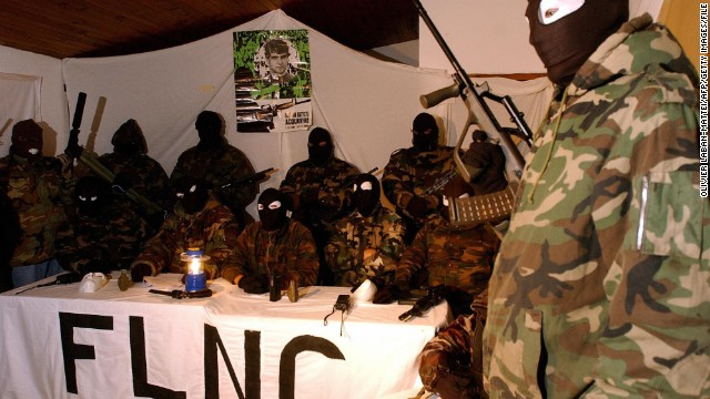 The FLNC-UC, a branch of the separatist group, announces in November 2003 that it will suspend its military actions.