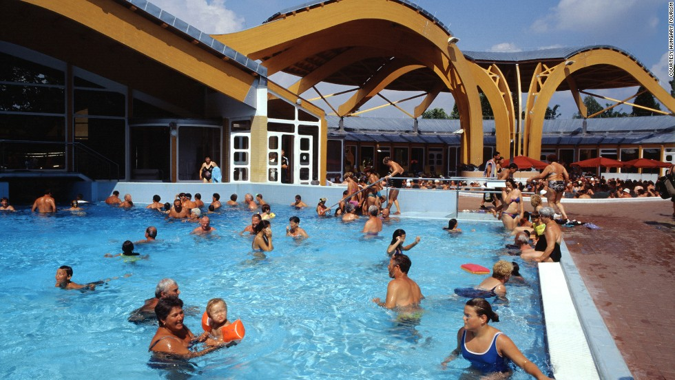 Within the 35-acre Bukfurdo complex are 32 pools, a sauna big enough for 150 people and plenty of paddling pools for kids.