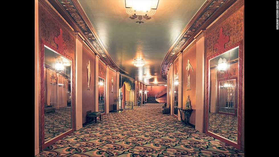 """<em>Paramount Theatre, Oakland</em><br /><br />""""Some of the greatest emotions I have known in my life often happened in a cinema, and for that reason I wanted to I honor it,"""" says Bohbot, """"they also represent the 'American dream' because most of the Hollywood studios founders were immigrants from Eastern Europe, and self-made men,"""" he adds."""
