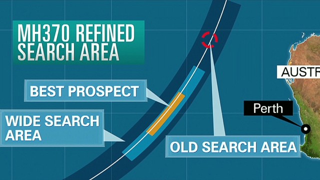 MH370 search moves farther south