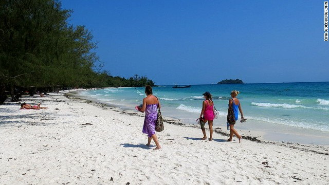 For Cambodia's best beach parties, hit Koh Rong.