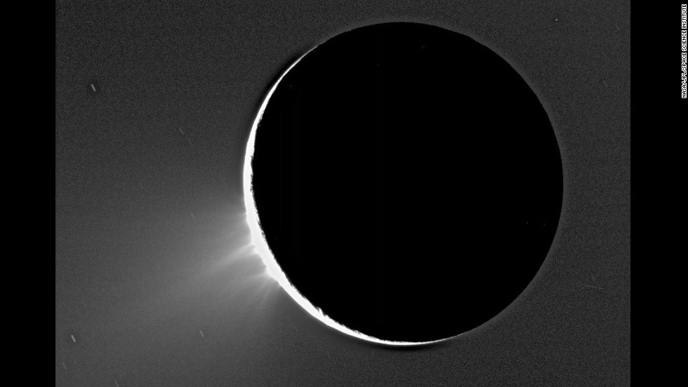 Enceladus Moon Surface Moon Enceladus Here The