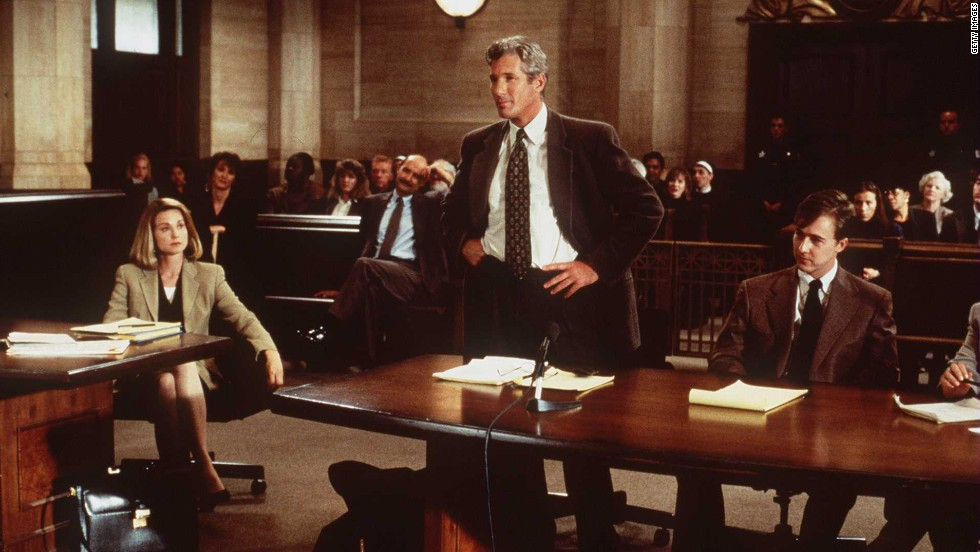 "<strong>""Primal Fear"" (1996) </strong> - RIchard Gere stars as a defense attorney in this courtroom drama about a case that may not be as open-and-shut as it seems. (Netflix, Amazon)"